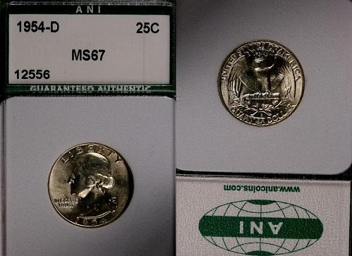 1954-D WASHINGTON SILVER QUARTER- BRILLIANT UNCIRCULATED !! LUSTER !!