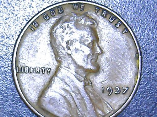 1937 P Lincoln Wheat Cent