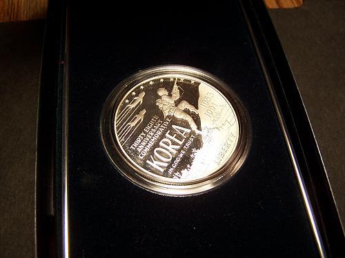 1991-Korean-War-Memorial-Commemorative-Silver-Dollar-Coin