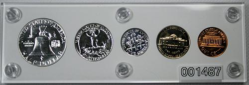 1961 US Mint Proof Set