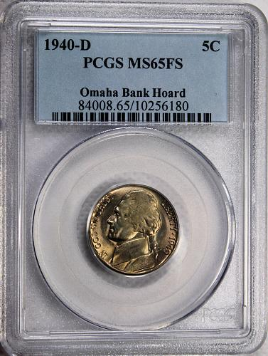 1940 D Jefferson Nickel > Full Step <