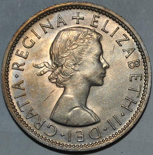 UK Great Britain Two Shilling 1962