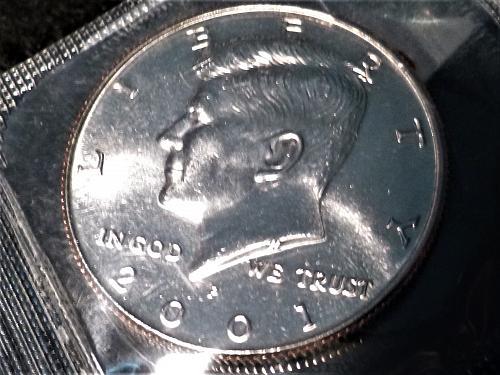 2001-P JFK Half Dollar From Mint Set