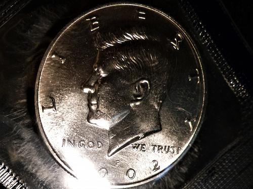 2002-P JFK Half Dollar From Mint Set