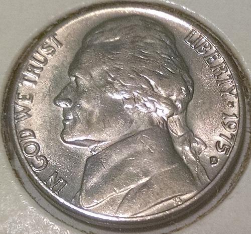 1975 D Jefferson Nickels