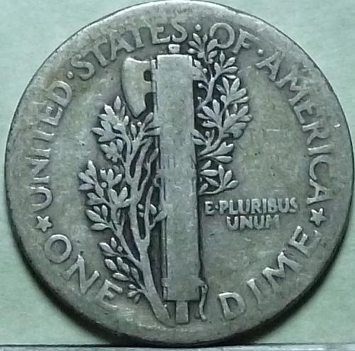 1921-P Very Good Mercury Dime   ( 941)