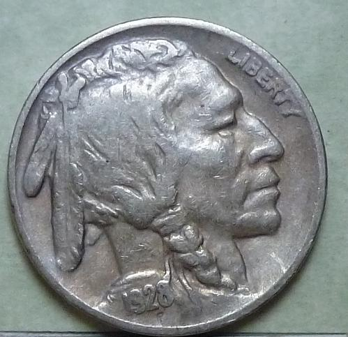 1928-D Grades EXTRA FINE Buffalo Nickel Coin XF ( 101)
