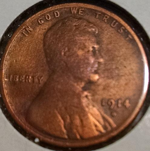 1914 D Lincoln Wheat Cent Small Cent