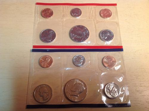 1987 PD Uncirculated Mint Set
