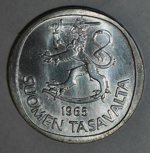 Finland 1 Markka 1965