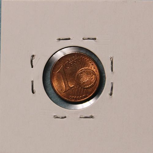 Germany 2009A 1 euro cent
