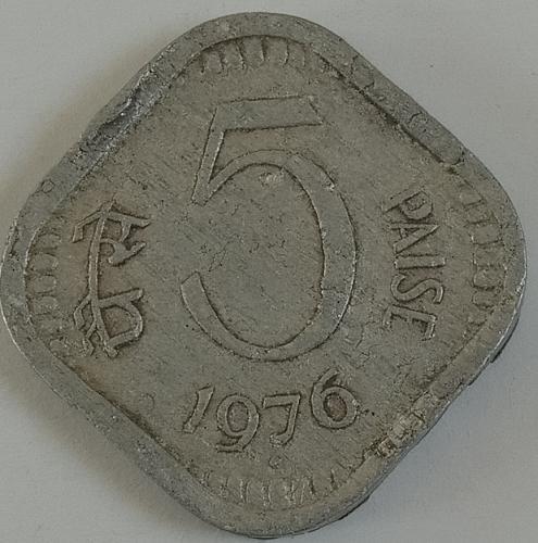 1976....india  Circulated  coin