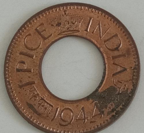 1)...1944.. British India  Circulated  coin..