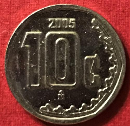 Mexico 2005 = 10 Centavos