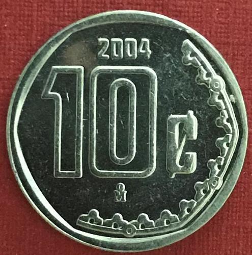Mexico 2004 = 10 Centavos [#2]