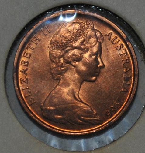 Australia 1 Cent 1966
