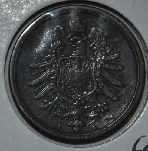 Germany - Empire 2 Pfennig 1875