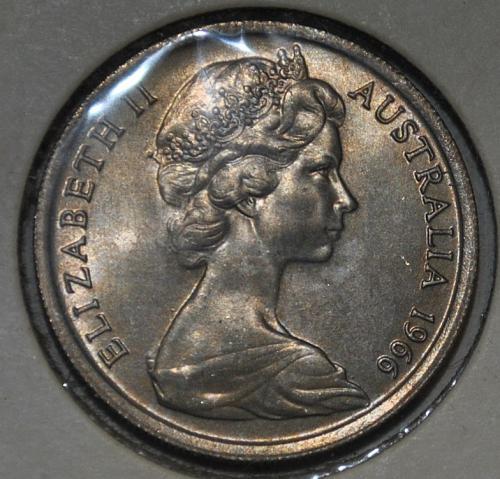Australia 10 Cents 1966