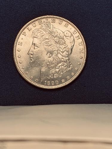 1890 P Morgan 90% Silver Dollar is Beautiful
