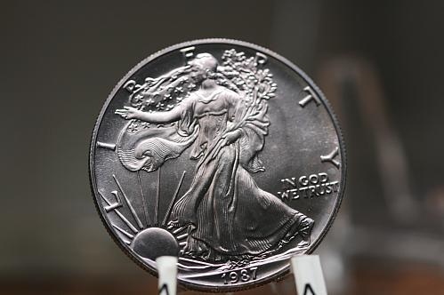 1987 American Eagle 1 Troy OZ Fine Silver BU Uncirculated