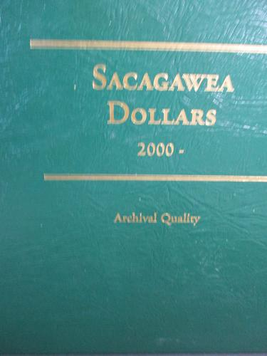 ALBUM SACAGAWEA - NATIVE AMERICAN DOLLARS - GENTLY USED