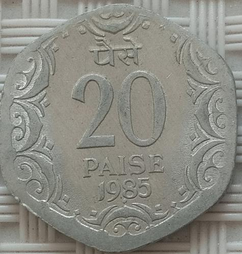 1985...India ....Circulated  coin..