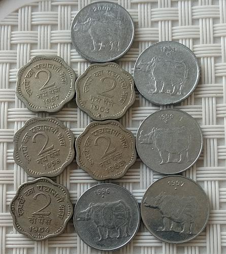 (3).....INDIA CIRCULATED COINS..