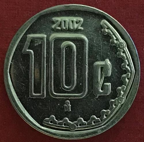 Mexico 2002 = 10 Centavos [#2]