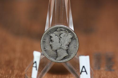 1920 D Mercury dime key  date