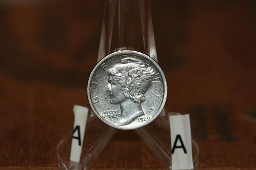 1920 D Mercury dime 90% Silver key  date