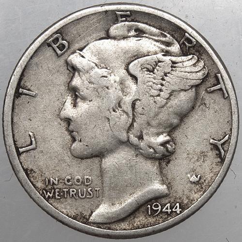 1944 P Mercury Dime #5