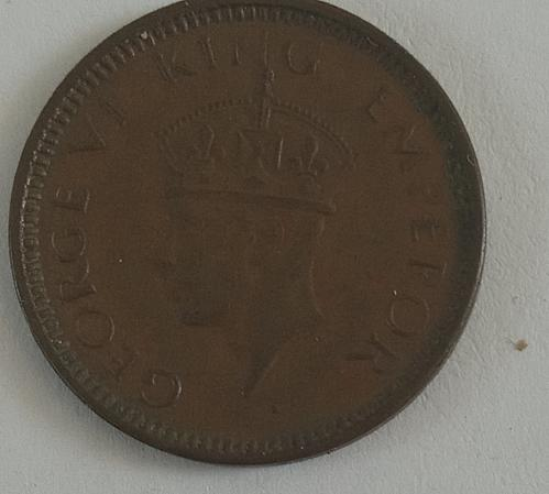 1941.. Bombay mint....India 1/12 Anna EF