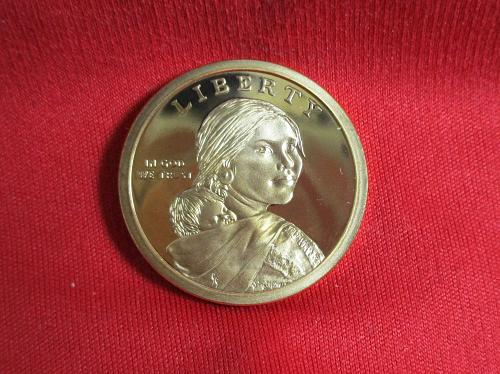 2009 S Native American & Sacagawea Dollars: Spread of Three Sisters Agriculture