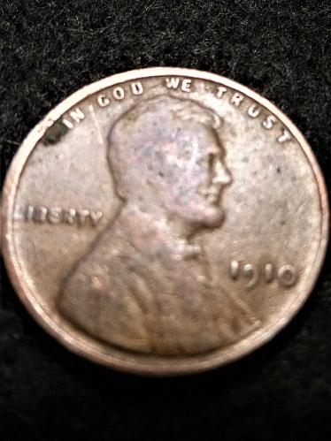 1910-P US Lincoln Wheat Cent