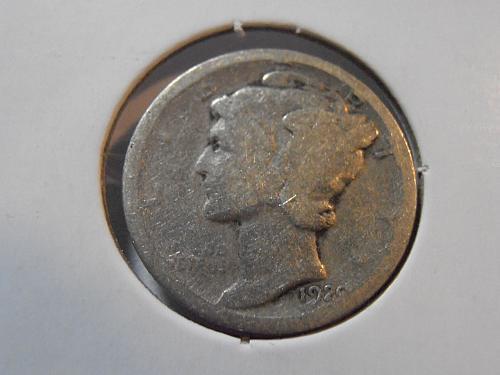 1920 D Mercury Silver Dime (20DAC1)