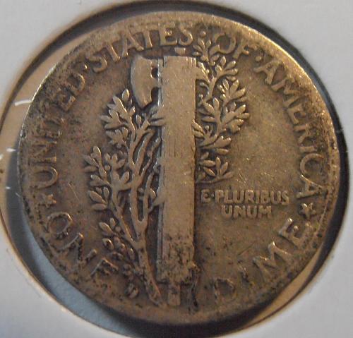 1935 D Mercury Silver Dime, Better Grade Coin (35DA4)