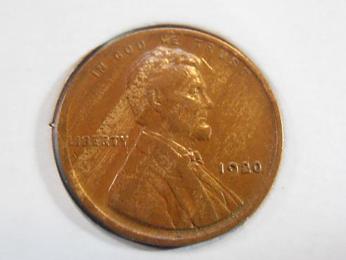 1920 P Lincoln Cent XF (20PLR1)