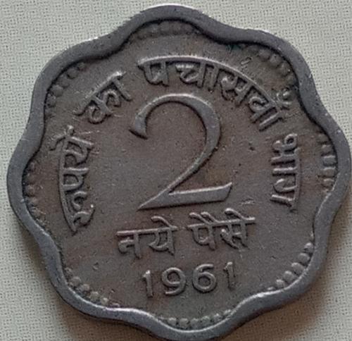 1961.....India  CIRCULATED..  coin..
