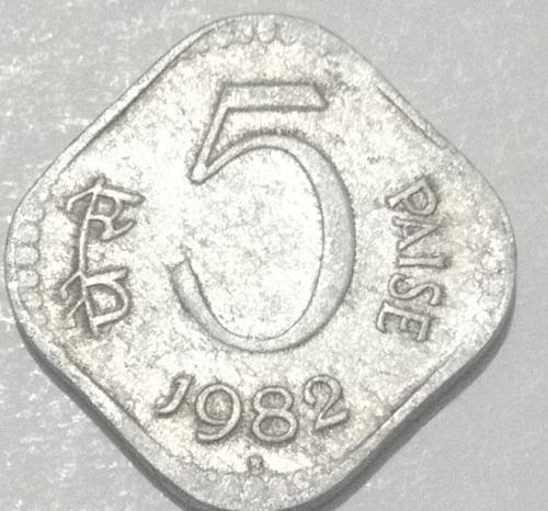 1982......India  CIRCULATED..  coin..