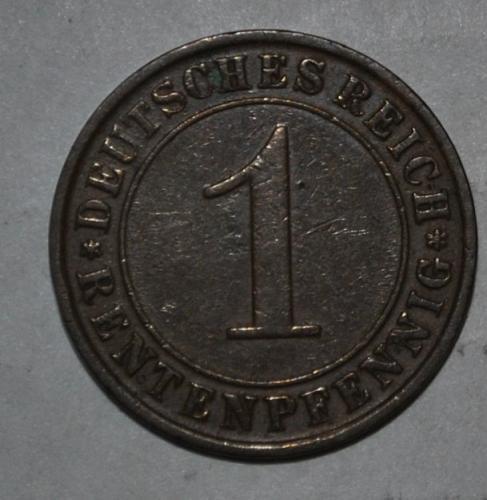 Germany 1 Rentenpfennig 1923 g