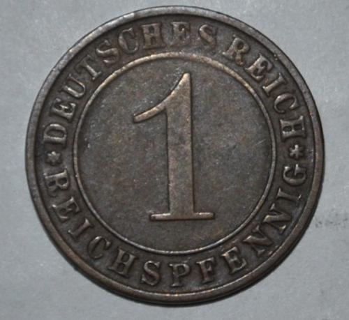 Germany 1  Reichspfennig 1935 d