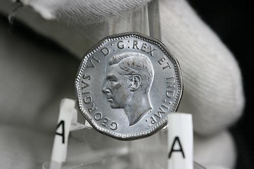 1944 Canada Nickel