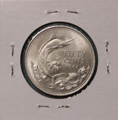 Bahamas 1966 50 cents