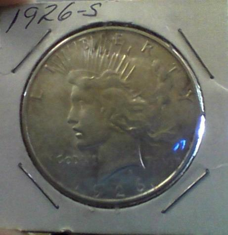 1926 s Peace Dollar