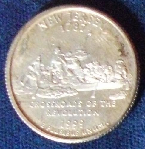 1999S New Jersey Quarter Silver Proof