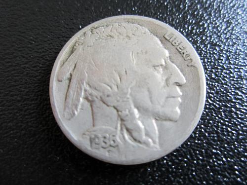 1936-S Buffalo NickeL   (GREAT BUY)
