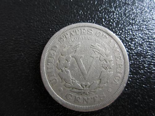 1907-P Liberty Nickel in plastic protector pouch for preservation