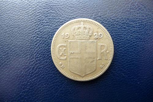 1929 Iceland   1 Krona