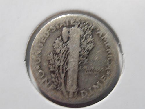 1920 P Mercury Silver Dime (20PLR3)
