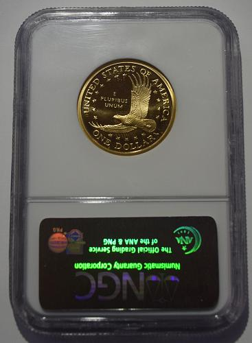 2004 S Sacagawea Golden Dollar NGC PF-69 ULTRA CAMEO